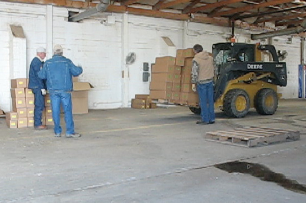 Picture of Unloading of Delivery truck